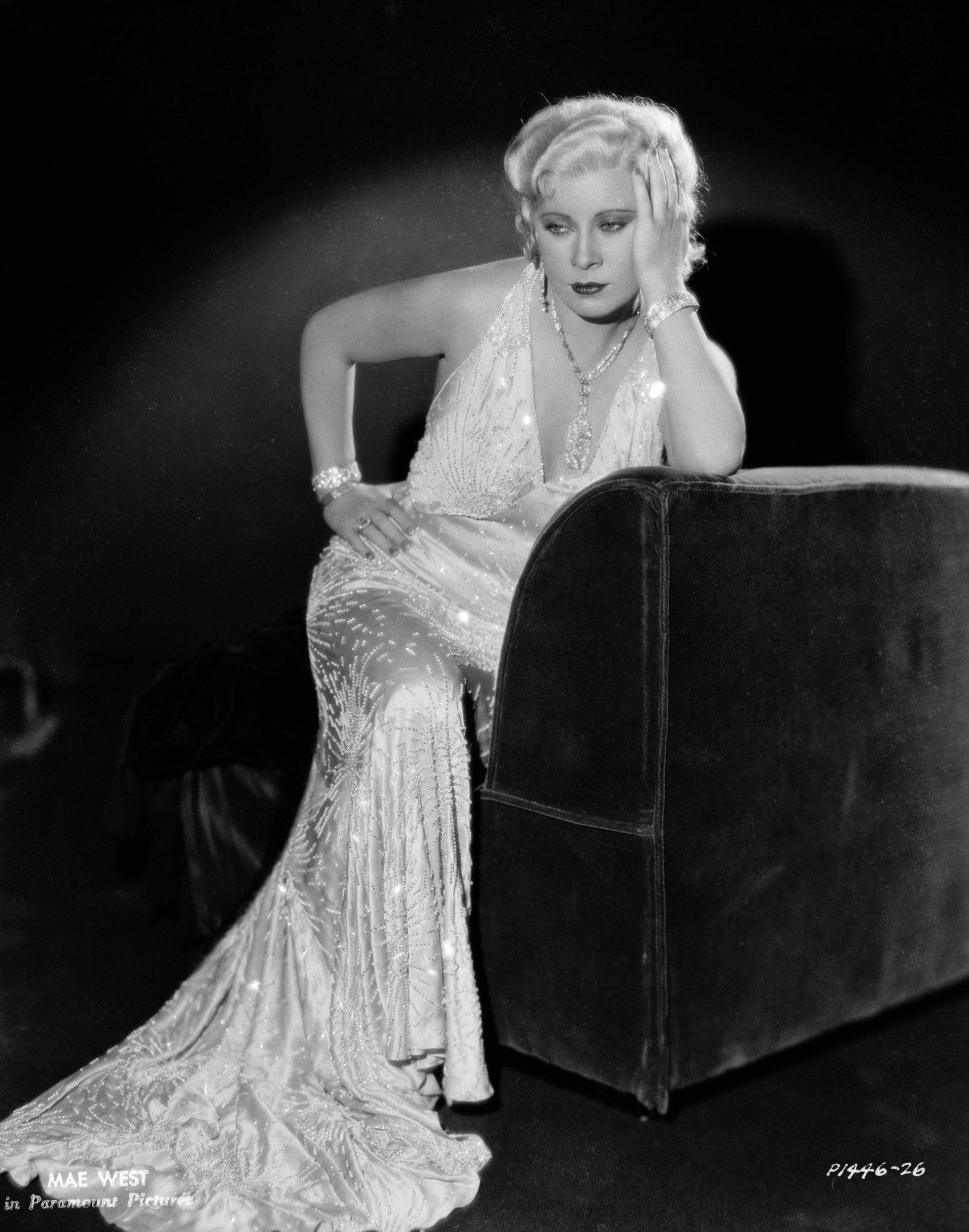 Styling 54B Mae West inspired shoot on Pinterest | Mae West, Google and Gemma Ward