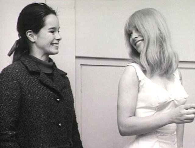 Geraldine & Julie Christie (Doctor Zhivago set)