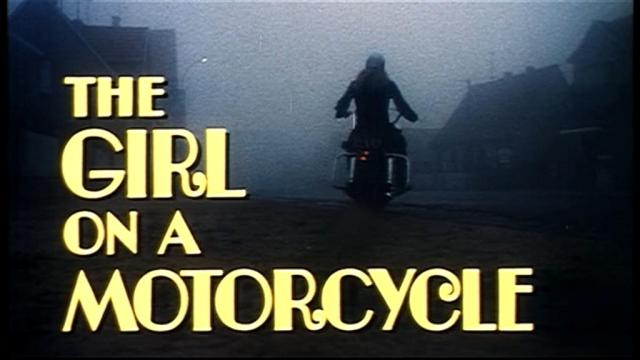 Girl on a Motorcycle 1