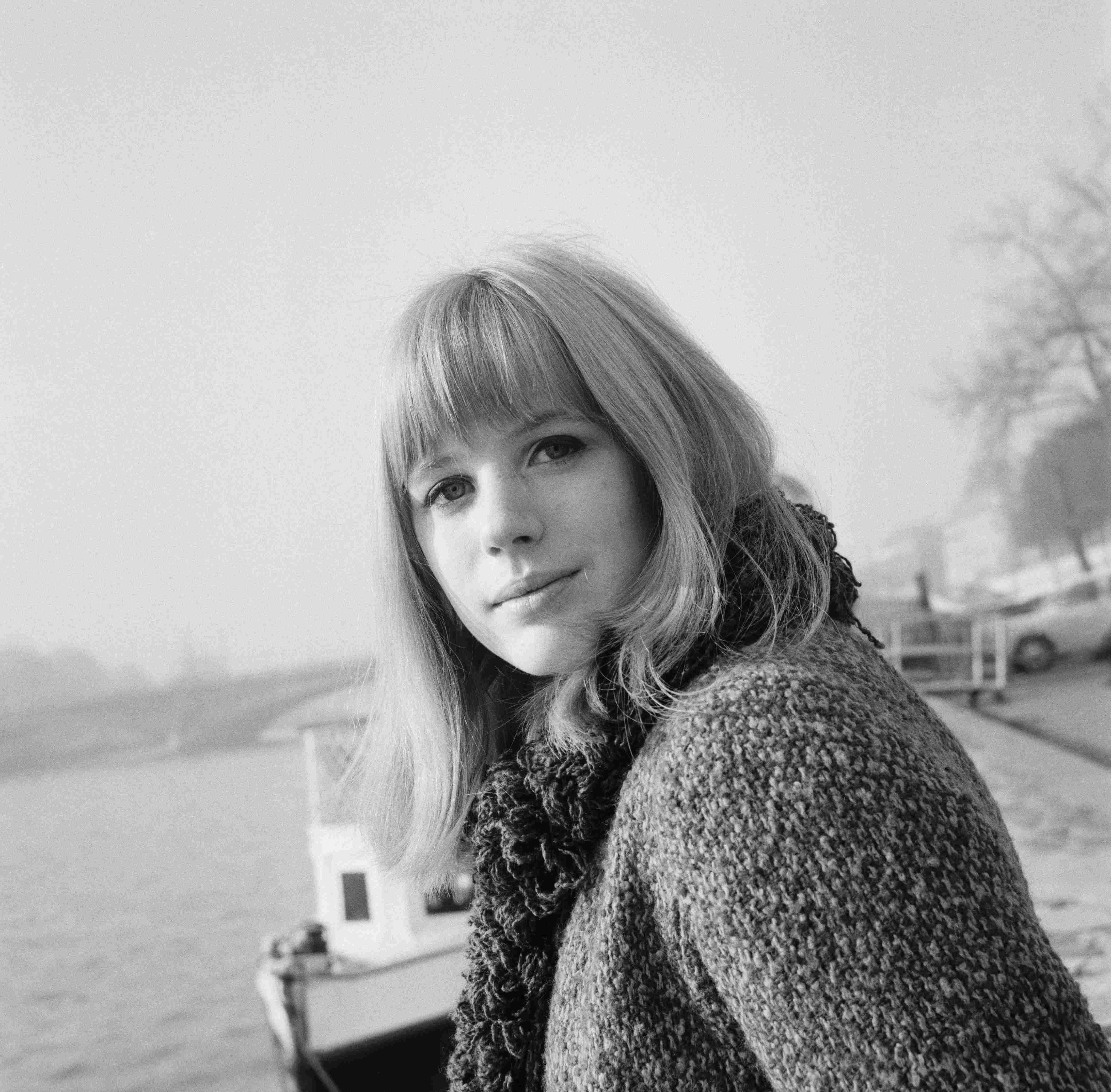 marianne faithfull 1 ... some Ben Gay on a groin pull and by mistake got some on his Johnson.