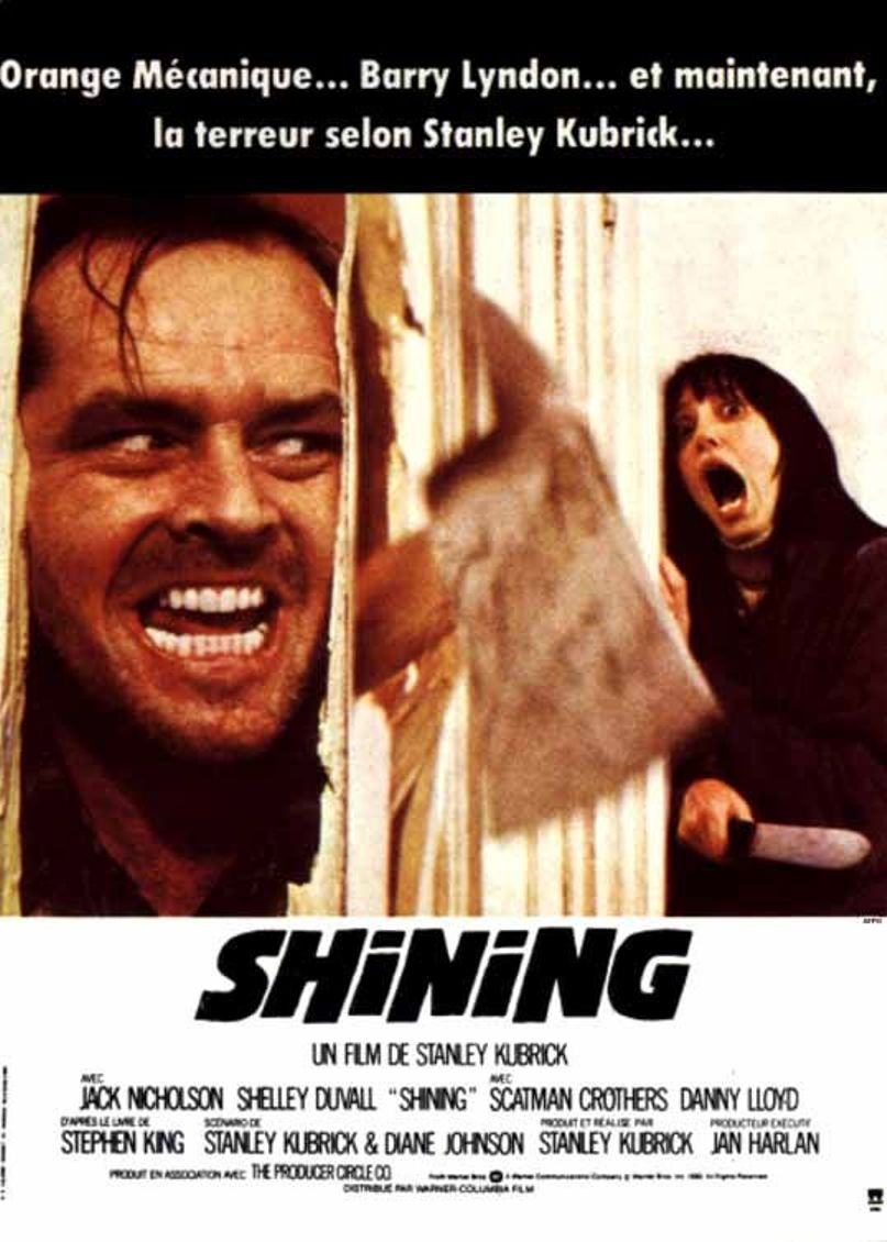 a review of the movie the shining Next movie is the tv miniseries of the shining so be sure to look out for that also yes i know there is a new carrie movie coming out and i will see that and review it on here also here is a trailer for the shining.