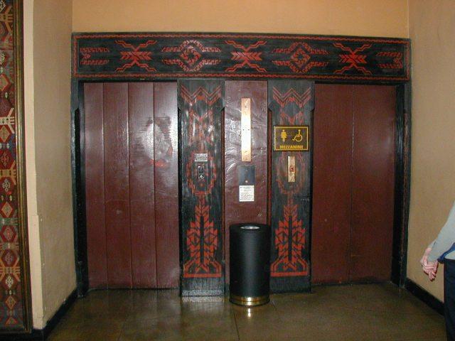 The Ahwahnee Hotel - elevator lobby