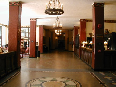 The Ahwahnee Hotel main lobby