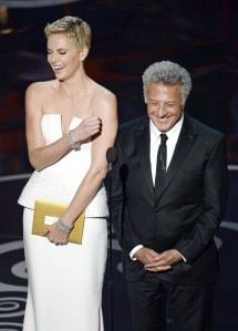 Charlize Theron & Dustin Hoffman Presenting