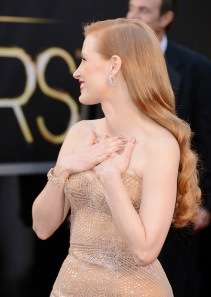 Jessica Chastain - 85th Annual Academy Awards