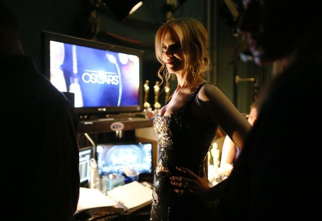 Kidman behind the scenes