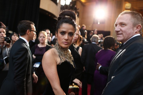 Salma Hayek - 85th Annual Academy Awards