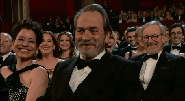 Tommy Lee Jones laugh