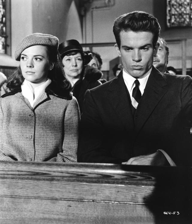 Natalie Wood and Warren Beatty in Splendor in the Grass directed by Elia Kazan, 1961