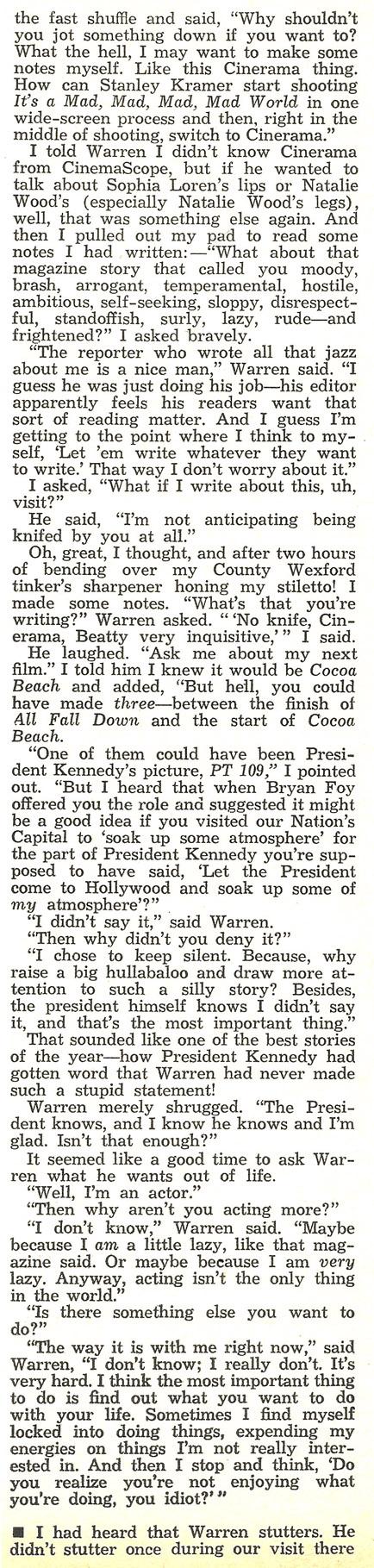 Warren Beatty #4