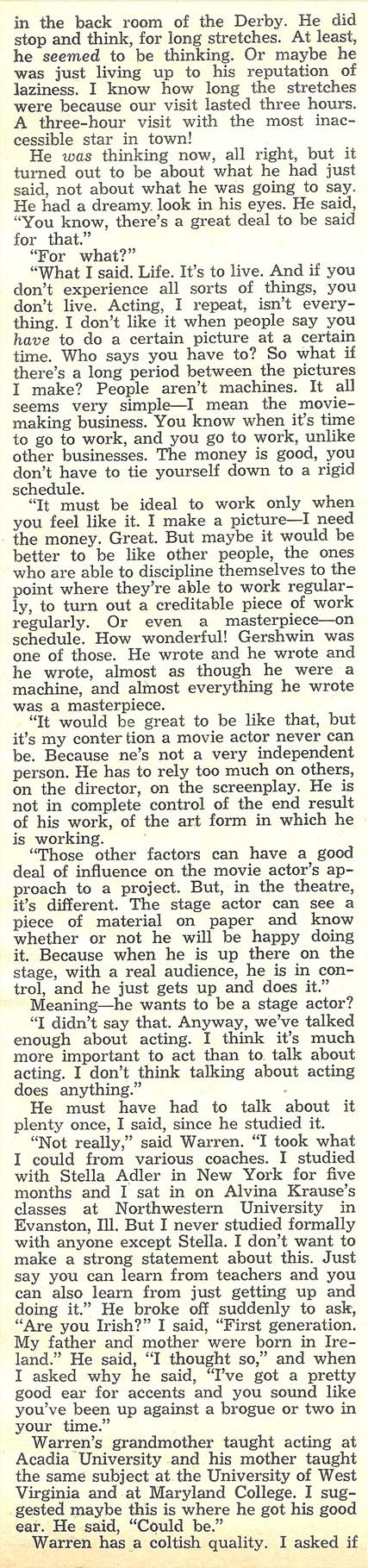 Warren Beatty #5