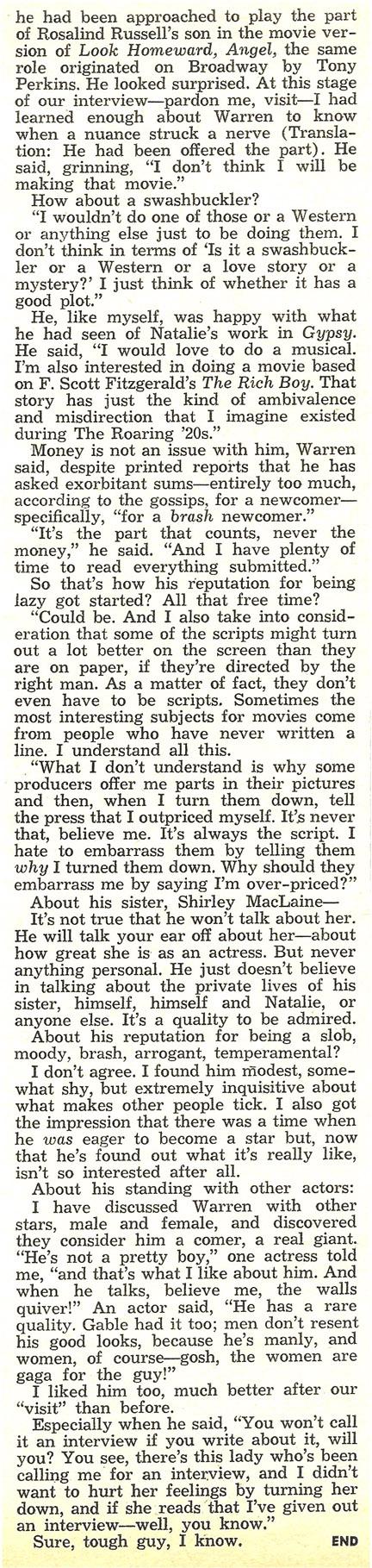 Warren Beatty #6